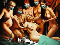 Group medical torture orgy